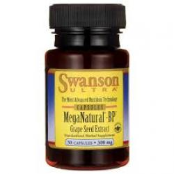 Swanson Ultra MegaNatural-BP Grape Seed Extract 300 mg / 30 Caps