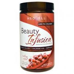 NeoCell Beauty Infusion Refreshing Collagen Drink Mix Cranberry Cocktail / 15.87 oz.