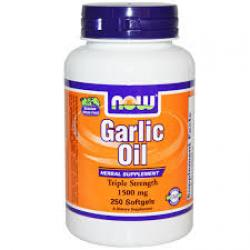 NOW® Foods Garlic Oil 1500 mg / 250 Softgels