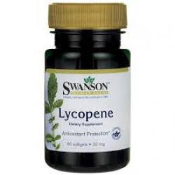 Swanson Premium Lycopene 20 mg / 60 Sgels