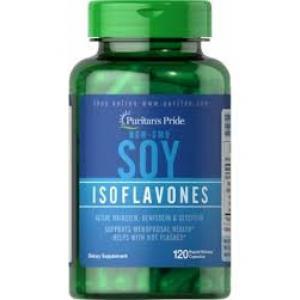 Puritan's Pride Non-GMO Soy Isoflavones 750 mg / 120 Capsules