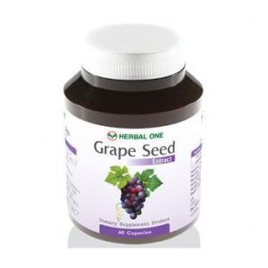 สารสกัดเข้มข้นจากเมล็ดองุ่น Grapeseed 60 capsule
