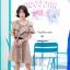 พร้อมส่ง เดรสเกาหลีโชว์ไหล่ thumbnail 3